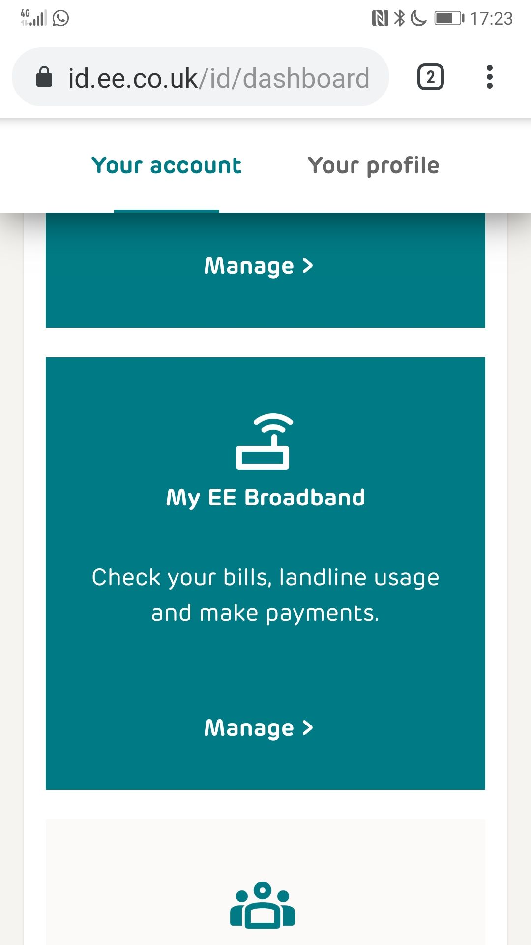 Can T Log Into Broadband Account The Ee Community