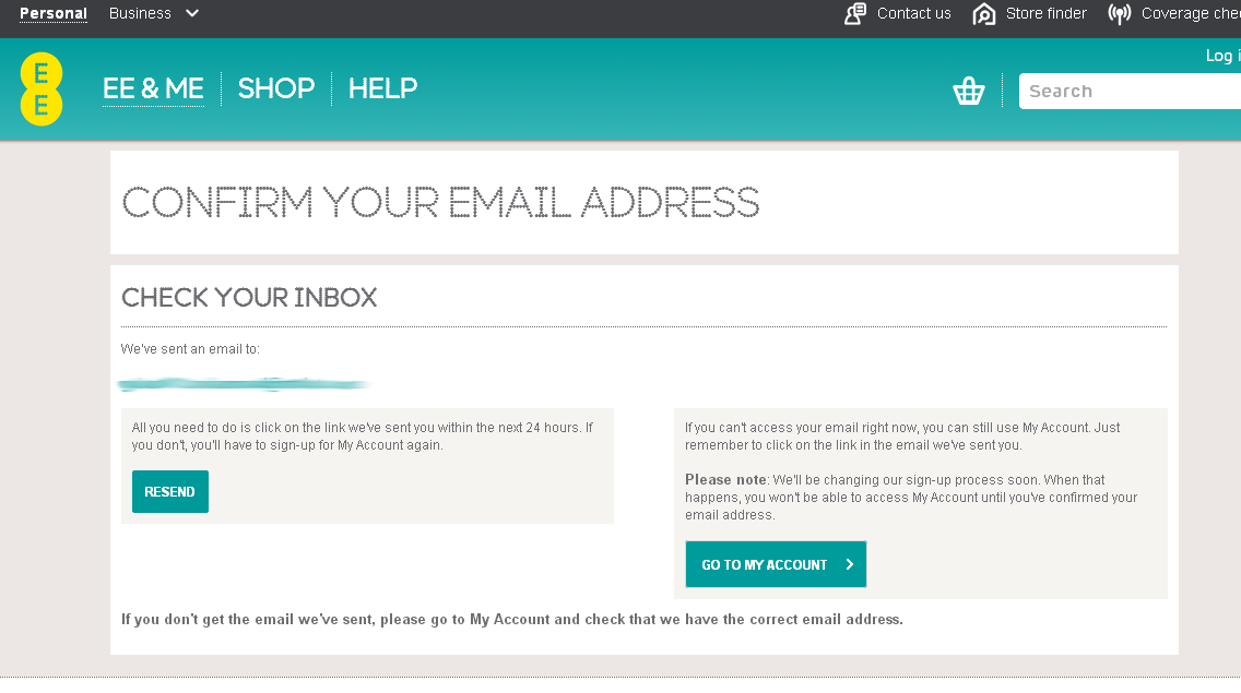 verify your email address to use my account the ee community
